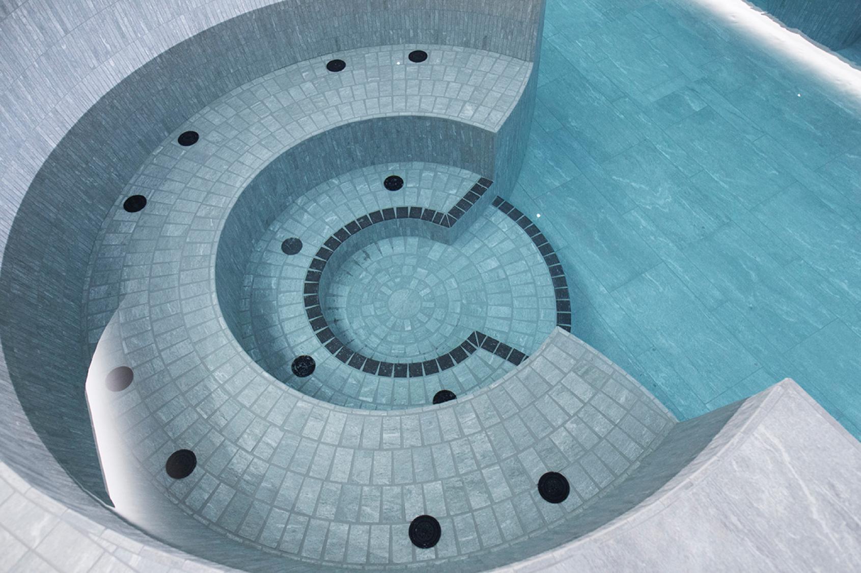 espace aquatique du Grand Spa Thermal de Brides-les-Bains