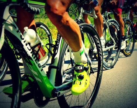 Sur la route avec le Tour de France