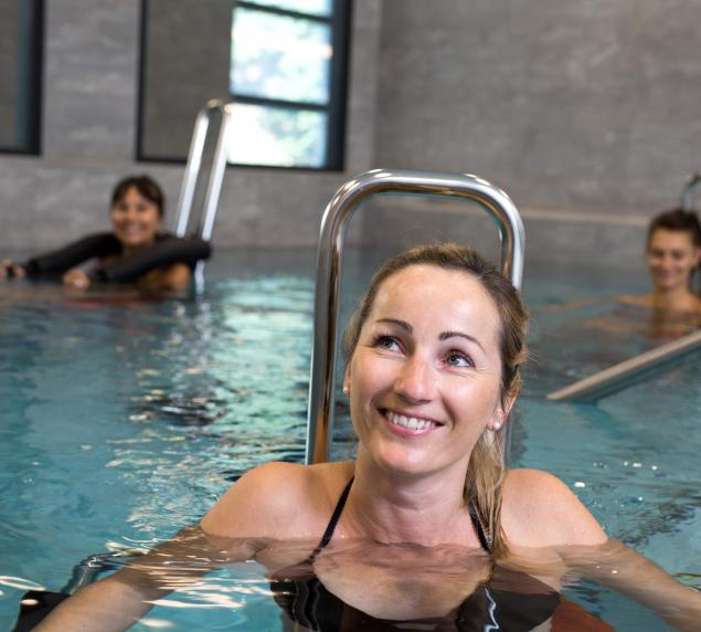 cours d'aquaforme grand spa thermal brides